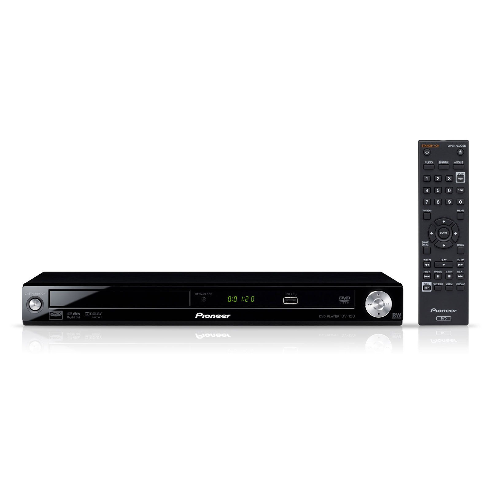 pioneer dv 120 lecteur dvd pioneer sur. Black Bedroom Furniture Sets. Home Design Ideas