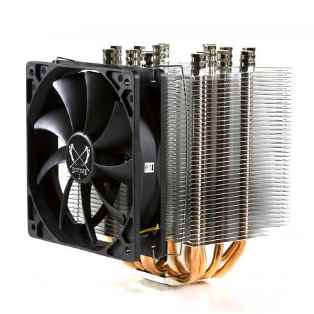 Ventilateur processeur Scythe Ninja 3 Scythe Ninja 3 (pour socket Intel 1366/1556/775 & AMD AM3/AM2+/AM2/940/939/754)