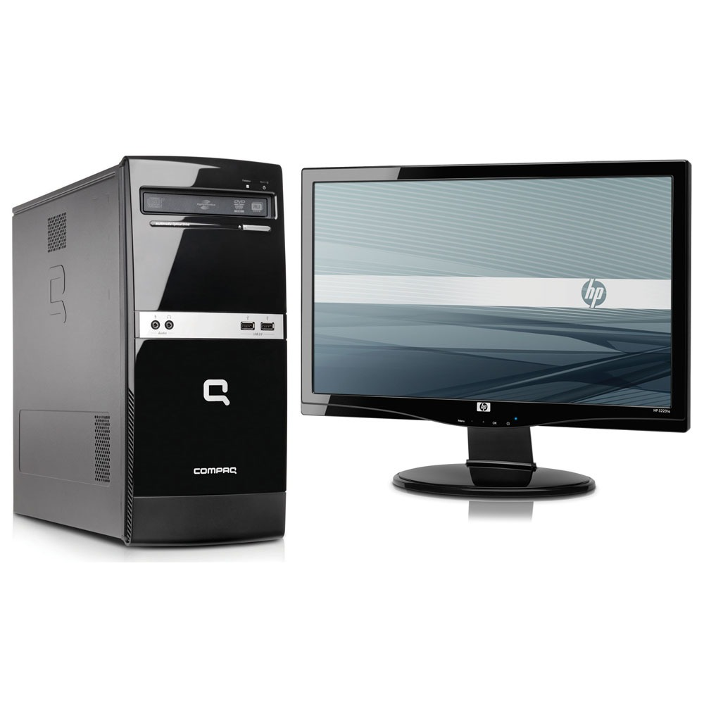 hp compaq 500b pc de bureau hp sur. Black Bedroom Furniture Sets. Home Design Ideas