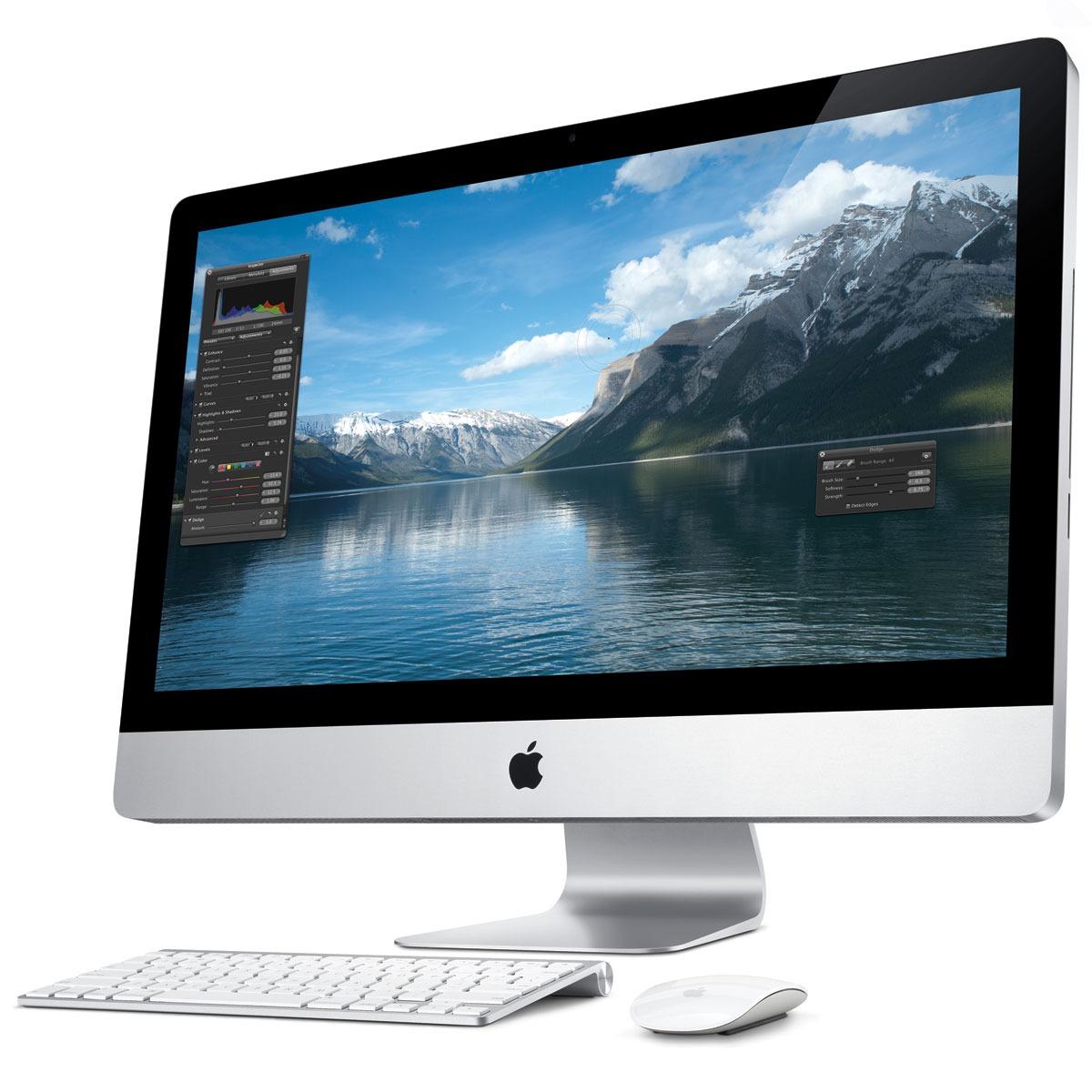 apple imac 27 ordinateur mac apple sur. Black Bedroom Furniture Sets. Home Design Ideas