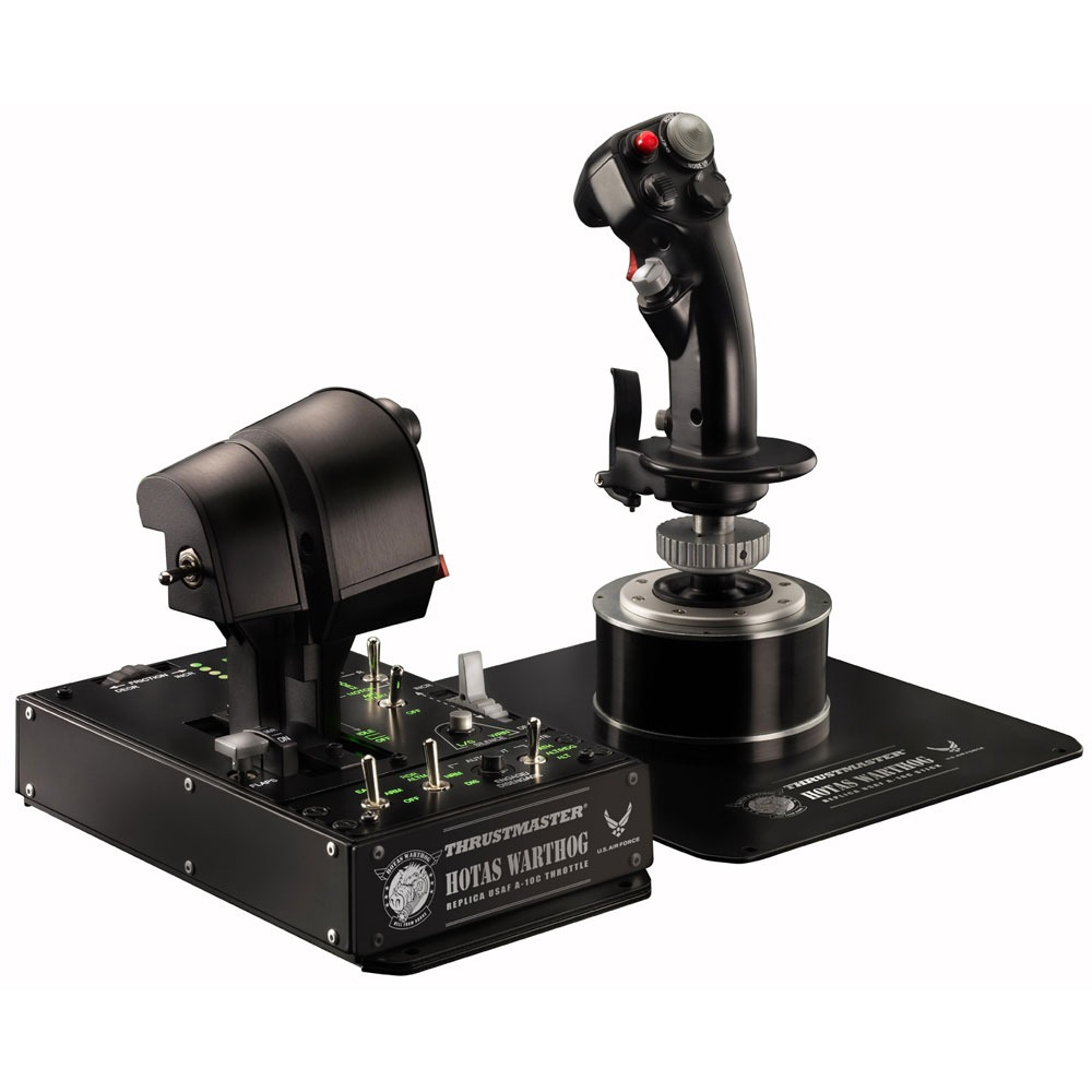 thrustmaster hotas warthog joystick thrustmaster sur. Black Bedroom Furniture Sets. Home Design Ideas
