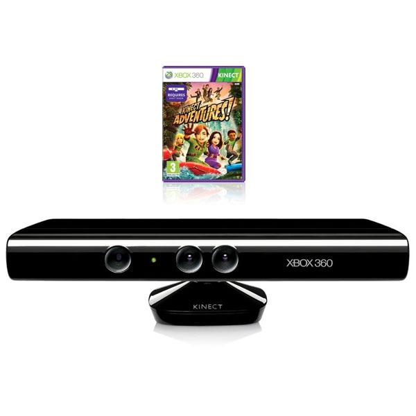 Microsoft Kinect Avec Jeu Kinect Adventures (Xbox 360