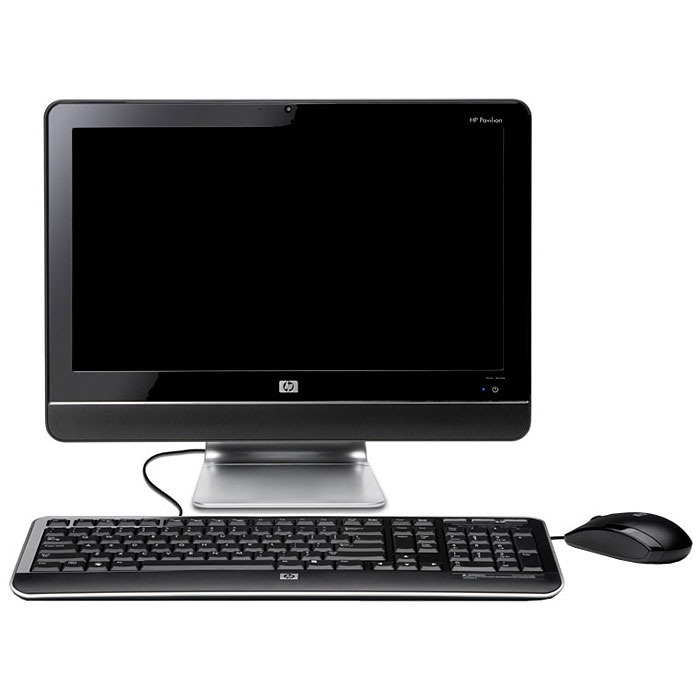 hp pavilion all in one ms229 pc de bureau hp sur. Black Bedroom Furniture Sets. Home Design Ideas