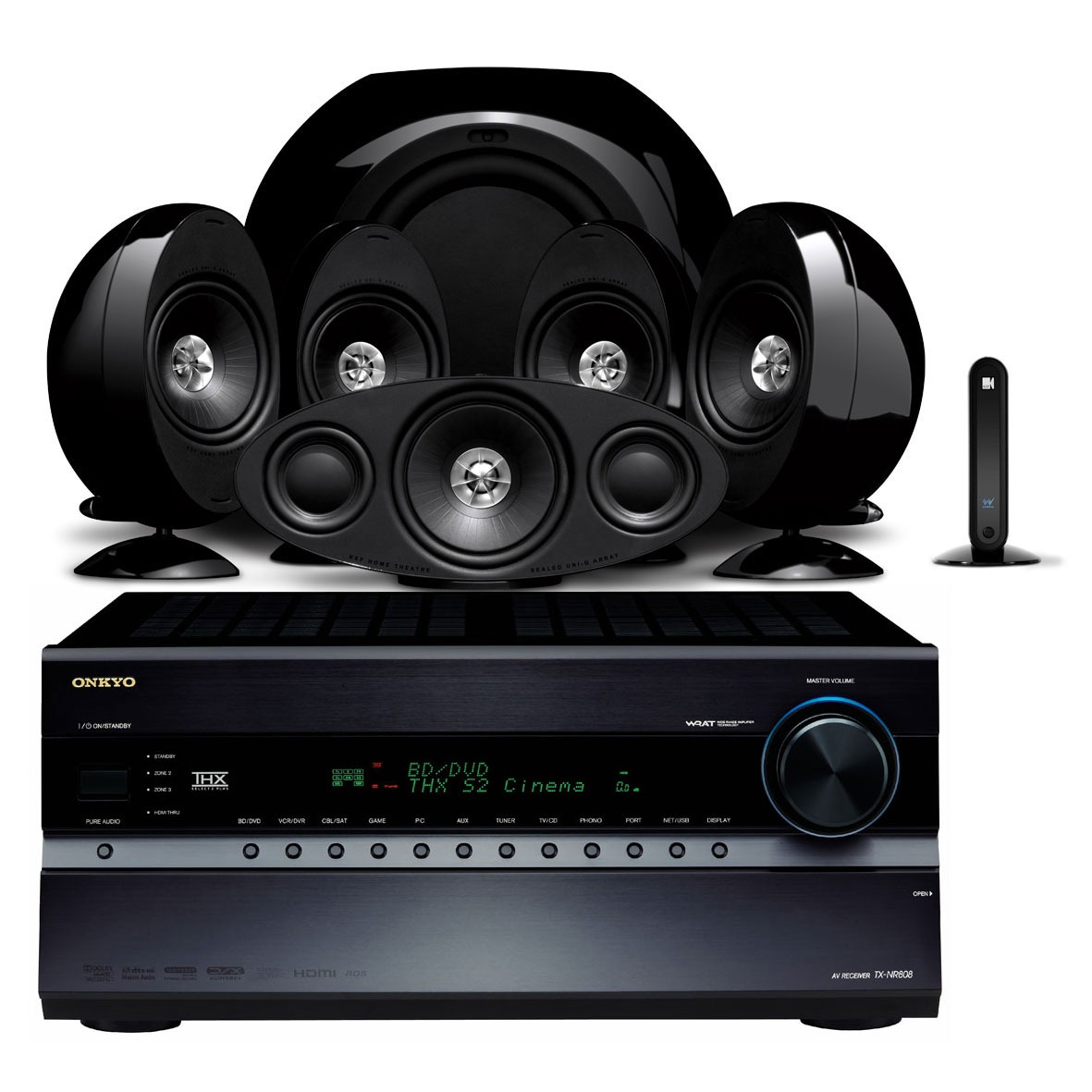 Home cinema kef 5.1