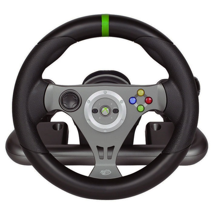 mad catz wireless racing wheel xbox 360 accessoires xbox 360 mad catz sur. Black Bedroom Furniture Sets. Home Design Ideas