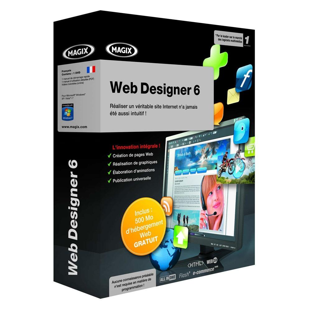 magix web designer 6 magix sur. Black Bedroom Furniture Sets. Home Design Ideas