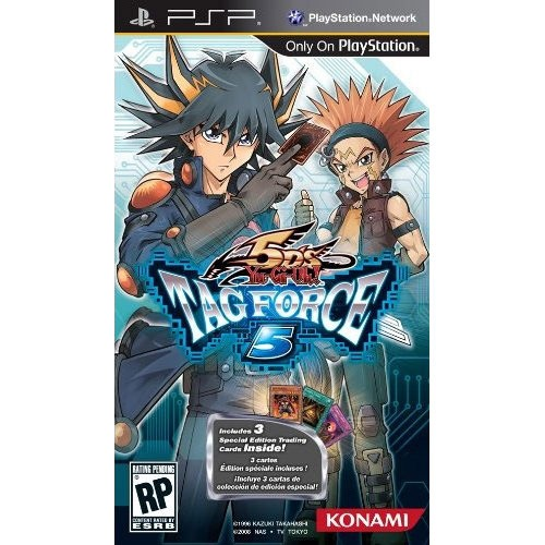 LDLC.com Yu-Gi-Oh! 5D's Tag Force 5 (PSP) Yu-Gi-Oh! 5D's Tag Force 5 (PSP)