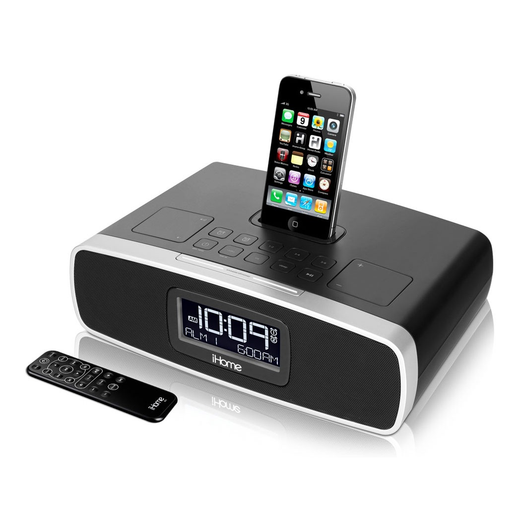 ihome ip90 dock enceinte bluetooth ihome sur. Black Bedroom Furniture Sets. Home Design Ideas