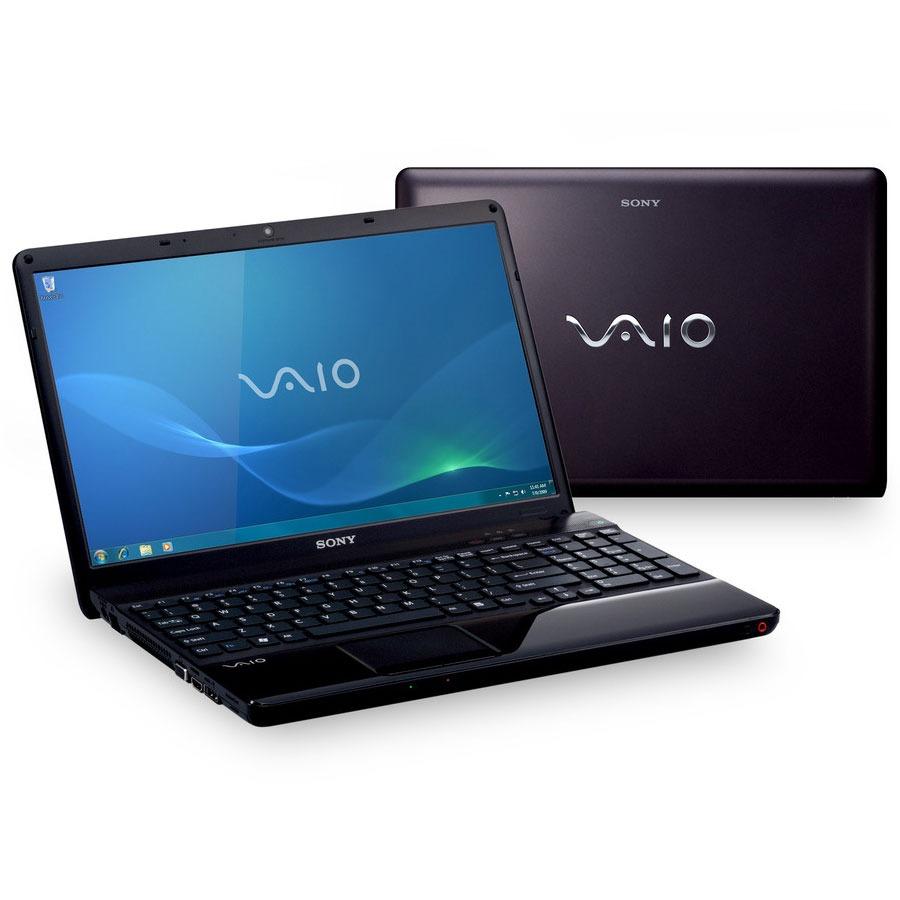 "PC portable Sony VAIO VPCEB3D4E/BQ Intel Pentium P6100 3 Go 320 Go 15.5"" LCD Graveur DVD Wi-Fi N/Bluetooth Webcam Windows 7 Professionnel 64 bits"