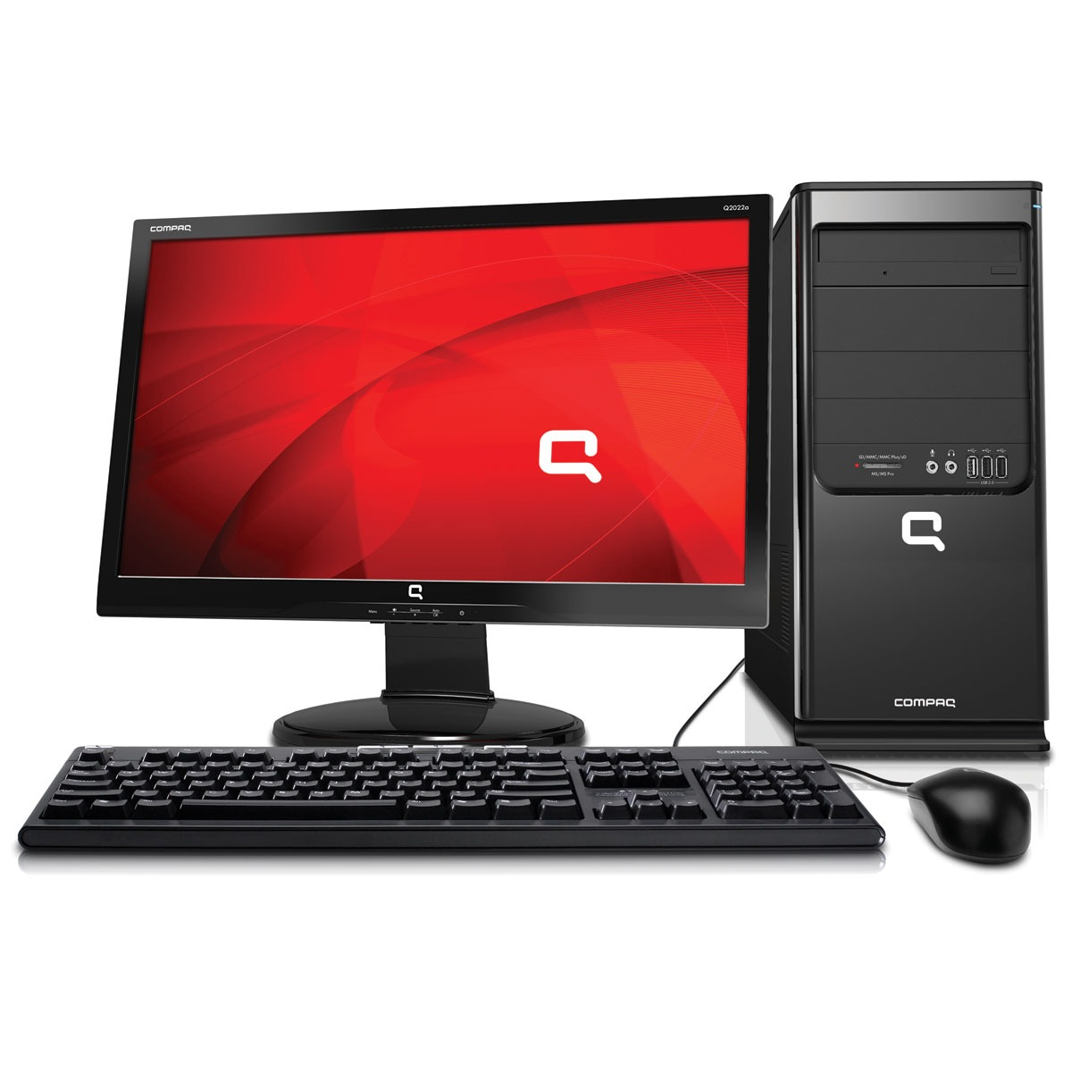 hp compaq sg3 215fr m pc de bureau hp sur. Black Bedroom Furniture Sets. Home Design Ideas