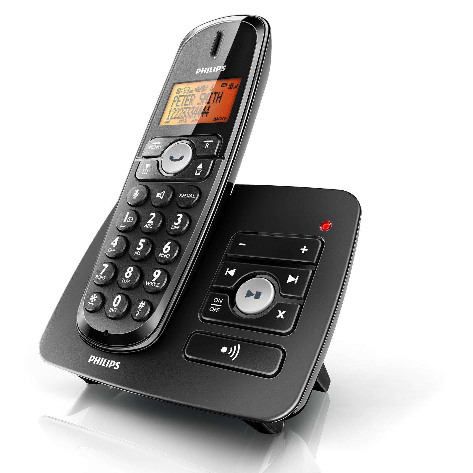 philips xl3751 t l phone sans fil philips sur. Black Bedroom Furniture Sets. Home Design Ideas
