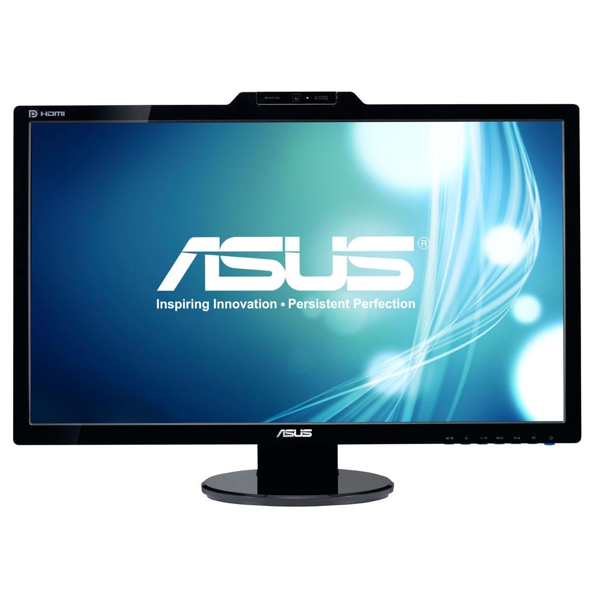 """Ecran PC ASUS 27"""" LED - VK278Q 1920 x 1080 pixels - 2 ms (gris à gris) - Format large 16/9 - Webcam rotative 2 mégapixels - DisplayPort / HDMI (garantie constructeur 3 ans)"""