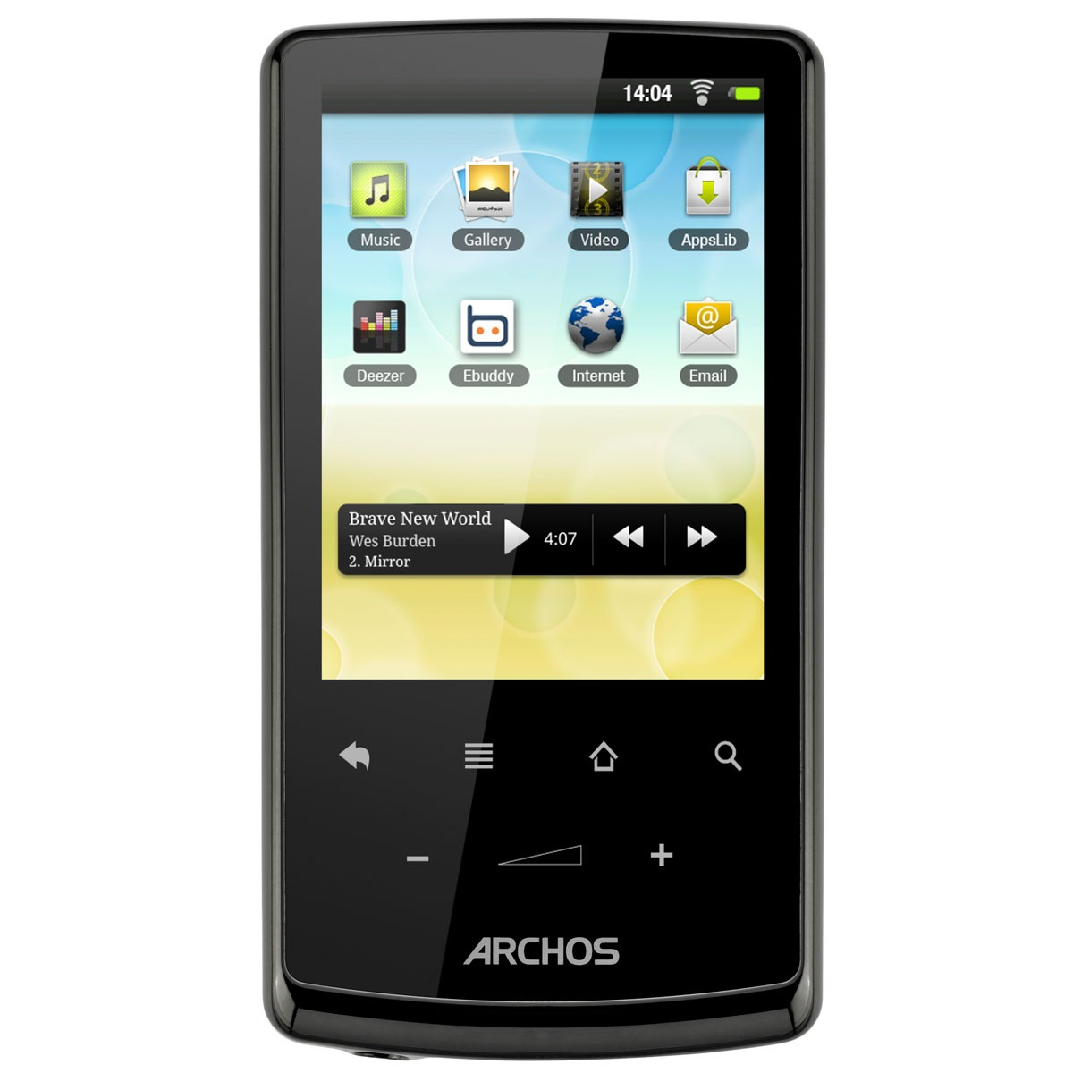 archos 28 internet tablet 4 go tablette tactile archos sur. Black Bedroom Furniture Sets. Home Design Ideas