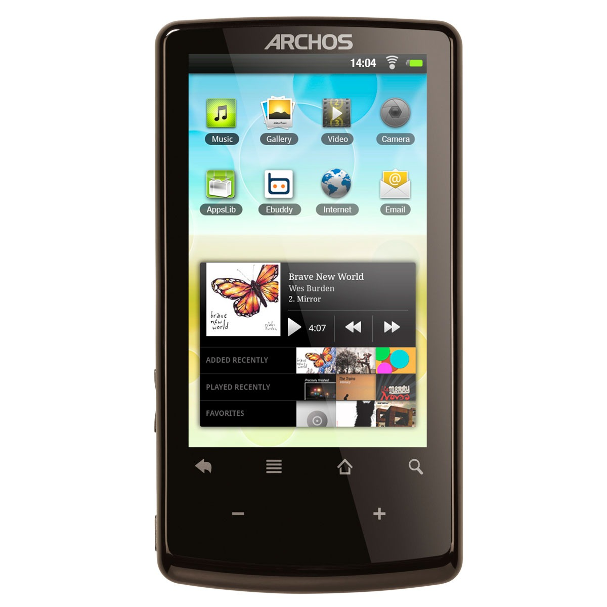 archos 32 internet tablet 8 go tablette tactile archos sur. Black Bedroom Furniture Sets. Home Design Ideas