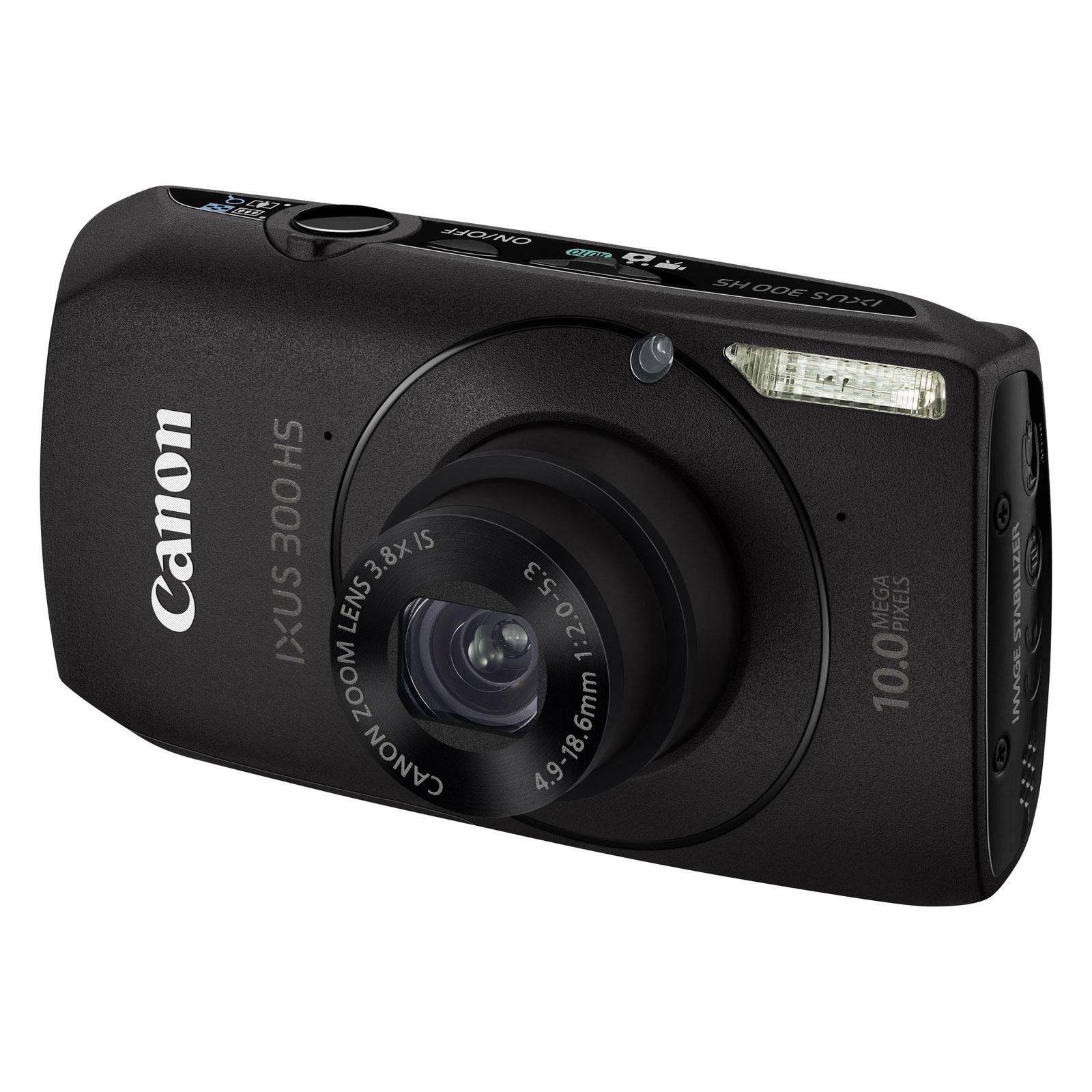 Canon ixus 300 hs noir housse dcc 70 appareil photo for Housse appareil photo canon