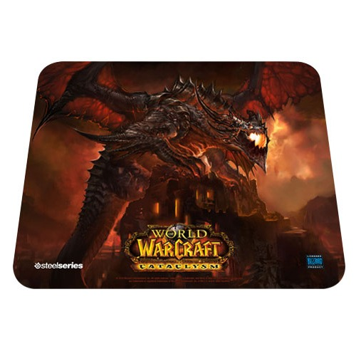 Steelseries qck edition limit e world of warcraft cataclysm deathwing tapis de souris - Steelseries tapis de souris ...