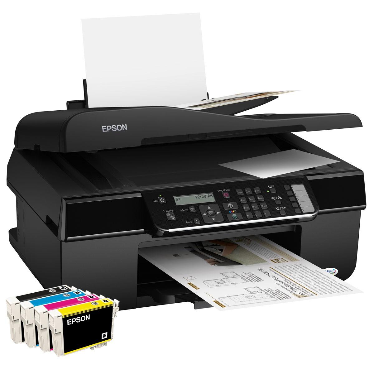 epson stylus office bx305fw imprimante multifonction. Black Bedroom Furniture Sets. Home Design Ideas