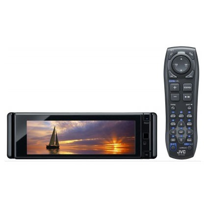 Autoradio JVC KD-AVX77 JVC KD-AVX77 - Autoradio DVD / DivX MP3 Bluetooth avec écran panoramique, contrôle iPod/iPhone, USB
