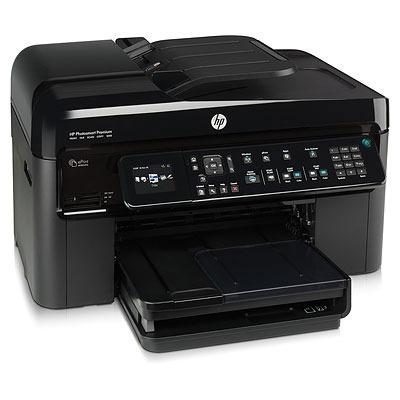 Imprimante multifonction HP Photosmart Premium with Fax eAIO 2011 (C410b) HP Photosmart Premium with Fax eAIO 2011 (C410b) - Imprimante Multifonction jet d'encre couleur 4-en-1 (USB 2.0 / Ethernet / Wi-Fi b/g/n)