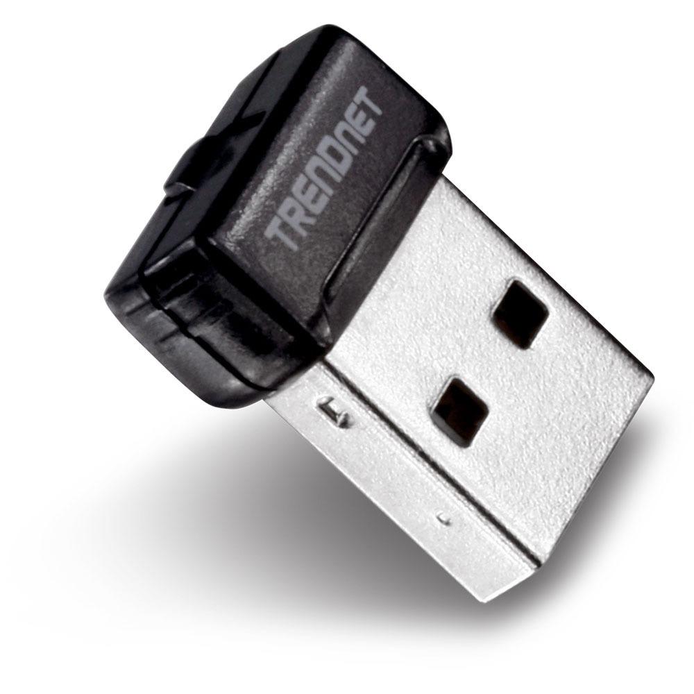 Carte réseau TRENDnet TEW-648UBM Clé USB Nano WiFi N 150 Mbps GreenNet
