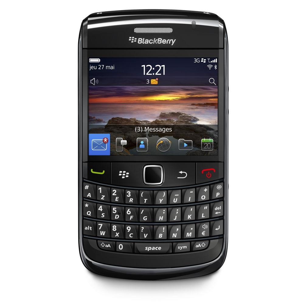 Blackberry bold 9780 noir mobile smartphone blackberry for Photo ecran blackberry