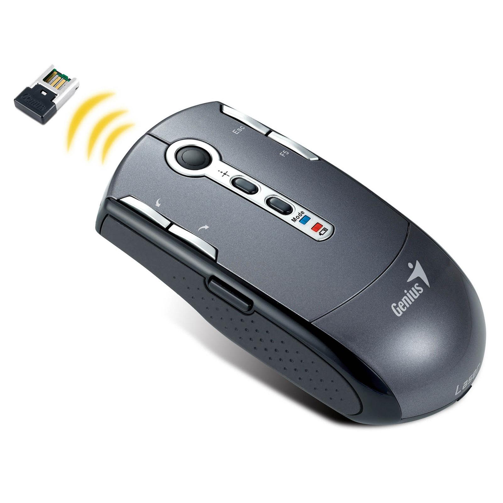 Souris PC Genius Navigator T835 Laser Genius Navigator T835 Laser - Souris laser sans fil