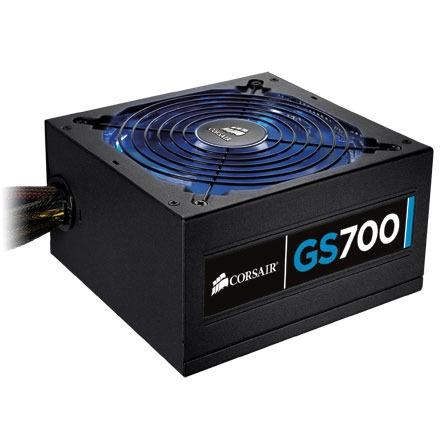 Alimentation PC Corsair Gaming Series GS700 80PLUS Alimentation 700W ATX 12V 2.3 (Garantie 3 ans par Corsair) - 80PLUS