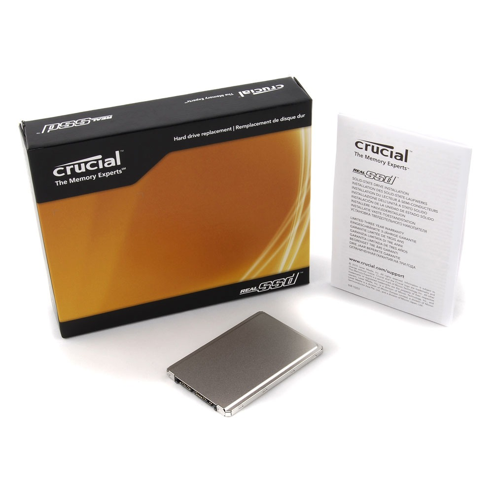"""Disque SSD Crucial RealSSD C300 256 GB 1.8"""" Crucial RealSSD C300 - SSD 256 Go 1.8"""" Serial ATA 6Gb/s"""