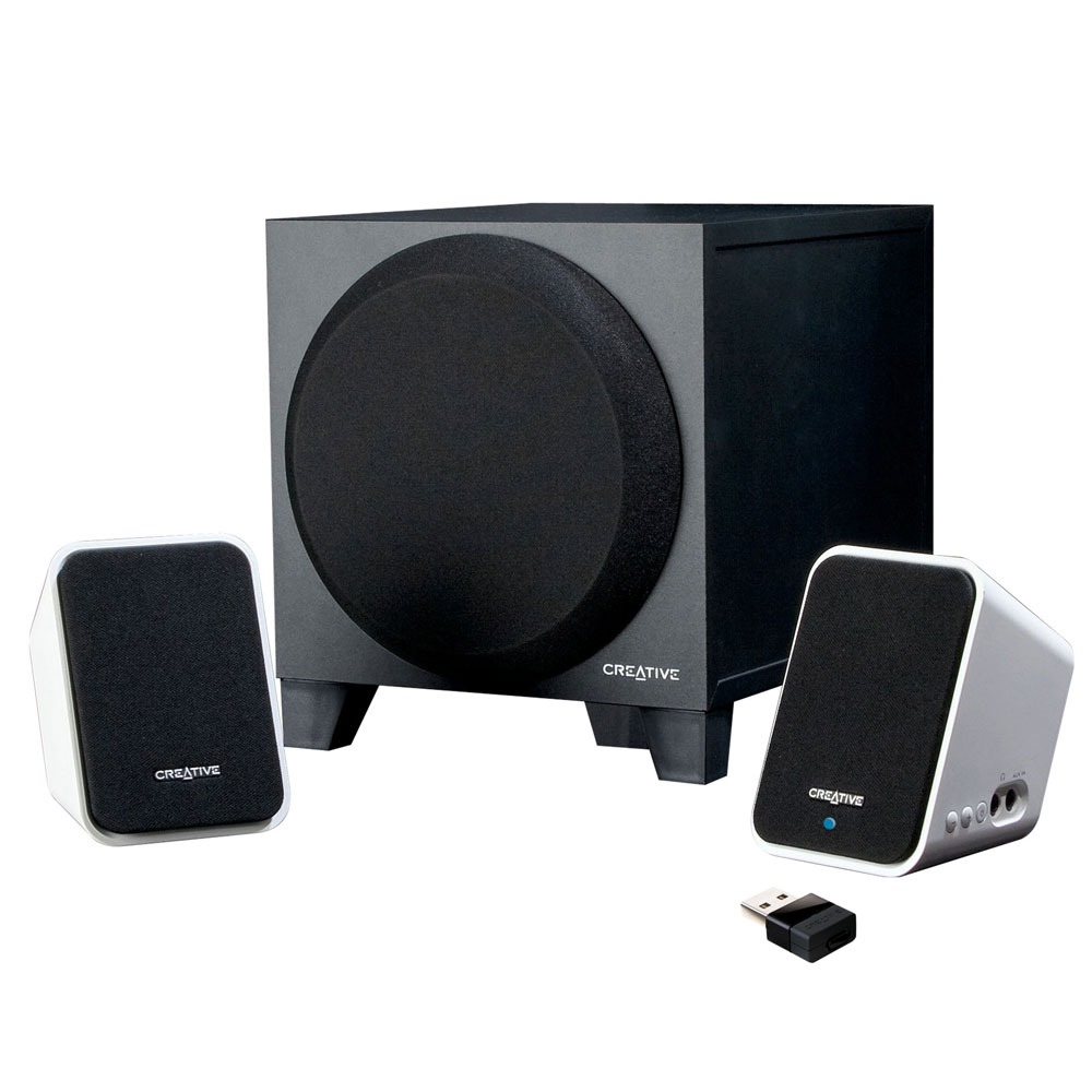 creative inspire s2 wireless enceinte pc creative technology ltd sur. Black Bedroom Furniture Sets. Home Design Ideas