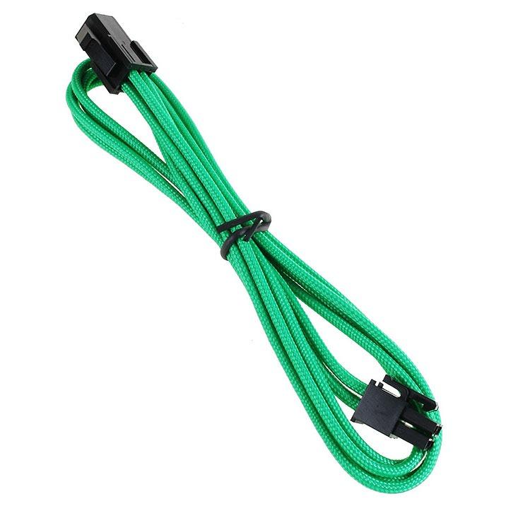 Alimentation BitFenix Alchemy Green - Extension d'alimentation gainée - ATX12V 4 pins - 45 cm (coloris vert) Extension d'alimentation gainée - ATX12V 4 pins - 45 cm (coloris vert)
