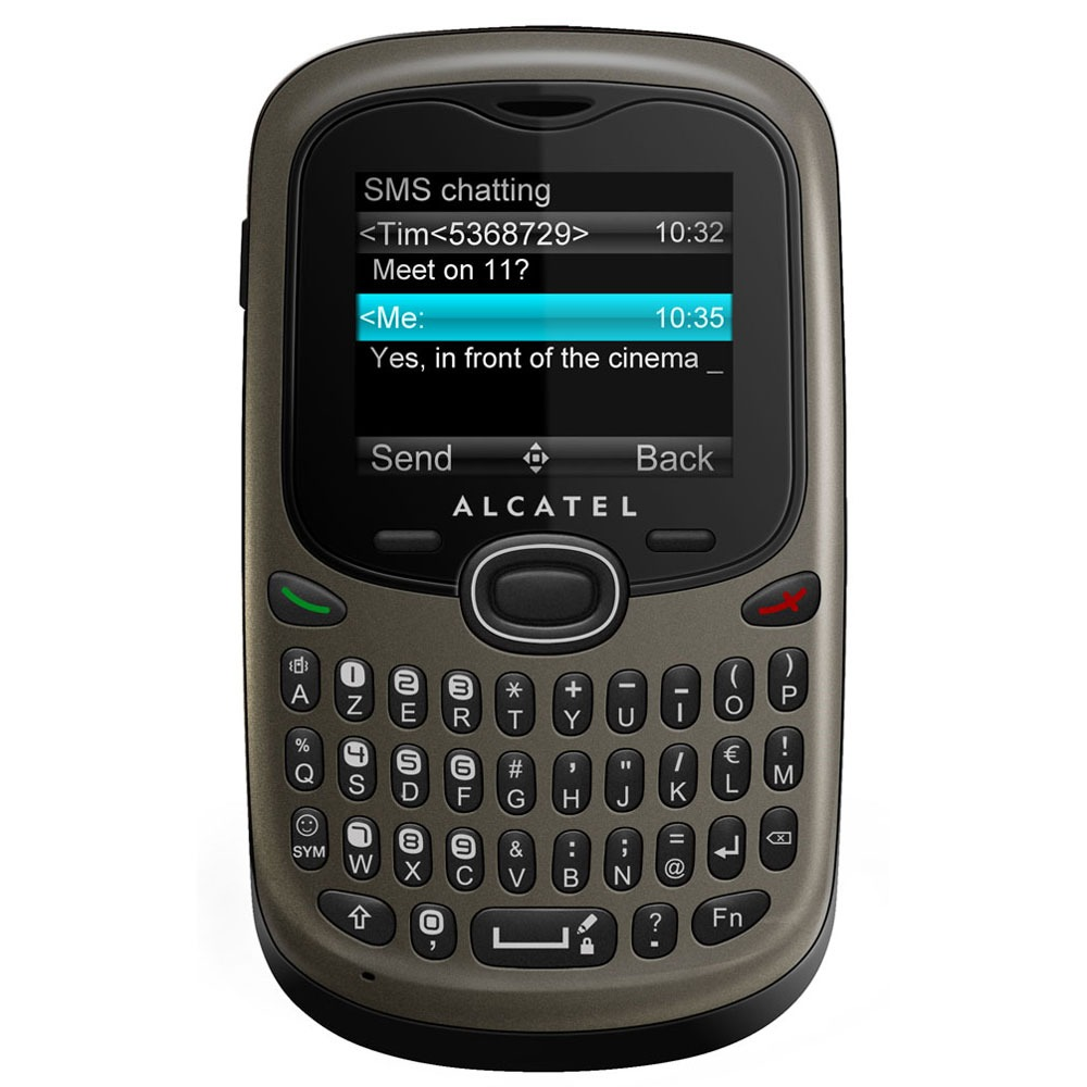alcatel ot 255 titane mobile smartphone alcatel sur. Black Bedroom Furniture Sets. Home Design Ideas
