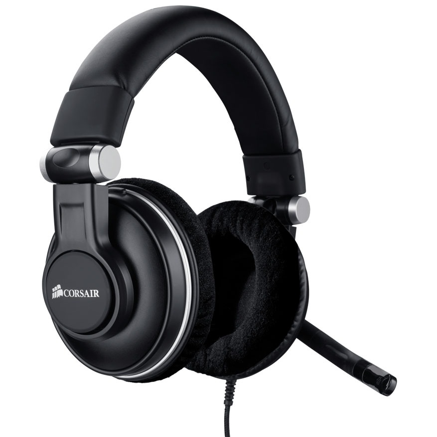 corsair hs1a gaming headset micro casque corsair sur. Black Bedroom Furniture Sets. Home Design Ideas
