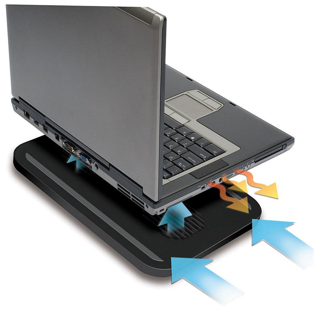 """Ventilateur PC portable Targus AWE18EU Chill Mat Targus AWE18EU Chill Mat - Système de refroidissement actif pour ordinateur portable (jusqu'à 15.4"""")"""