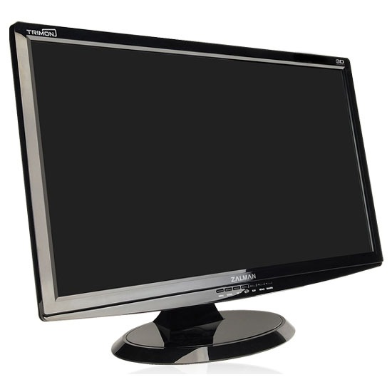 zalman 24 lcd 3d trimon zm m240w ecran pc zalman sur. Black Bedroom Furniture Sets. Home Design Ideas