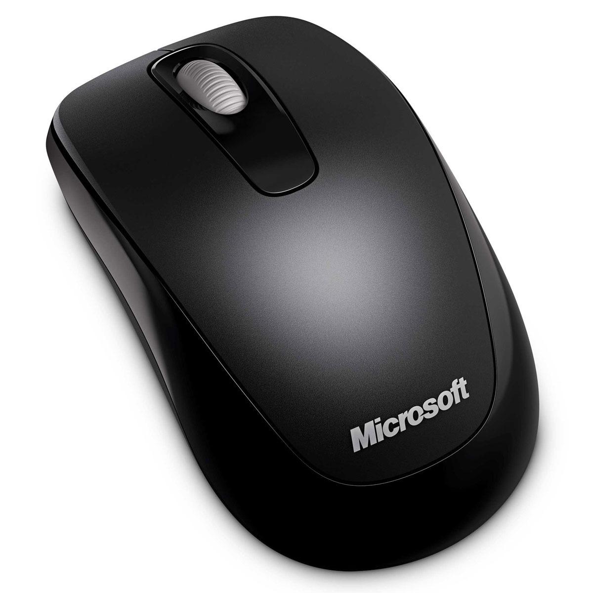 Souris PC Microsoft Wireless Mobile Mouse 1000 Microsoft Wireless Mobile Mouse 1000 - Souris sans fil (coloris noir)