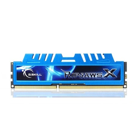 Mémoire PC G.Skill RipJaws X Series 4 Go (kit 2x 2 Go) DDR3-SDRAM PC3-14900 G.Skill RipJaws X Series 4 Go (kit 2x 2 Go) DDR3-SDRAM PC3-14900 - F3-14900CL9D-4GBXM (garantie 10 ans par G.Skill)