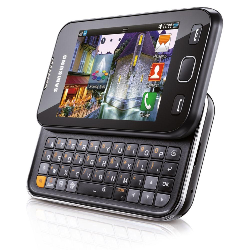 samsung wave 533 azerty noir mobile smartphone samsung. Black Bedroom Furniture Sets. Home Design Ideas