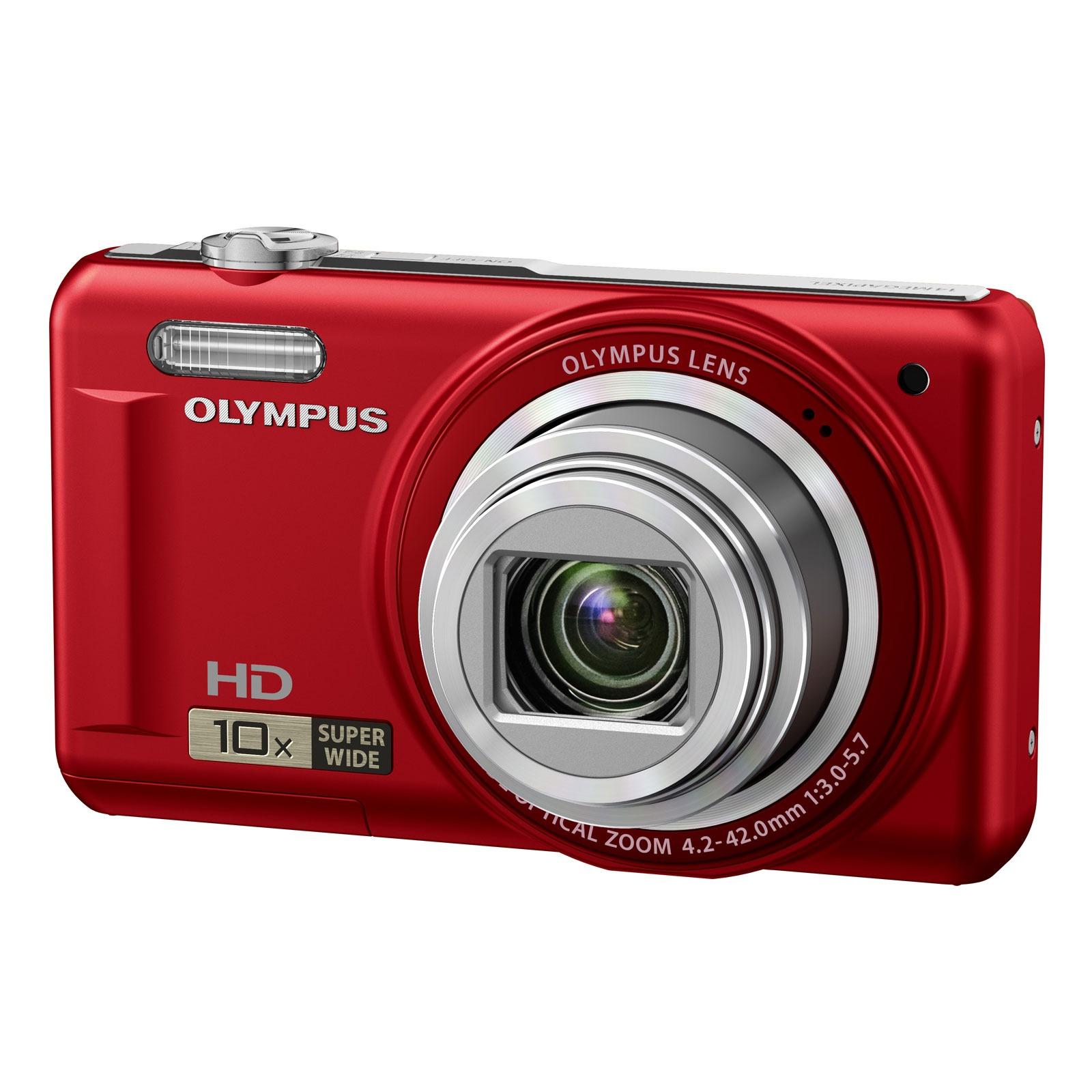 olympus vr 310 rouge appareil photo num rique olympus. Black Bedroom Furniture Sets. Home Design Ideas