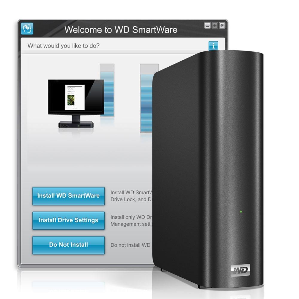 Disque dur externe Western Digital My Book Live 1 To Disque dur réseau multimédia personnel
