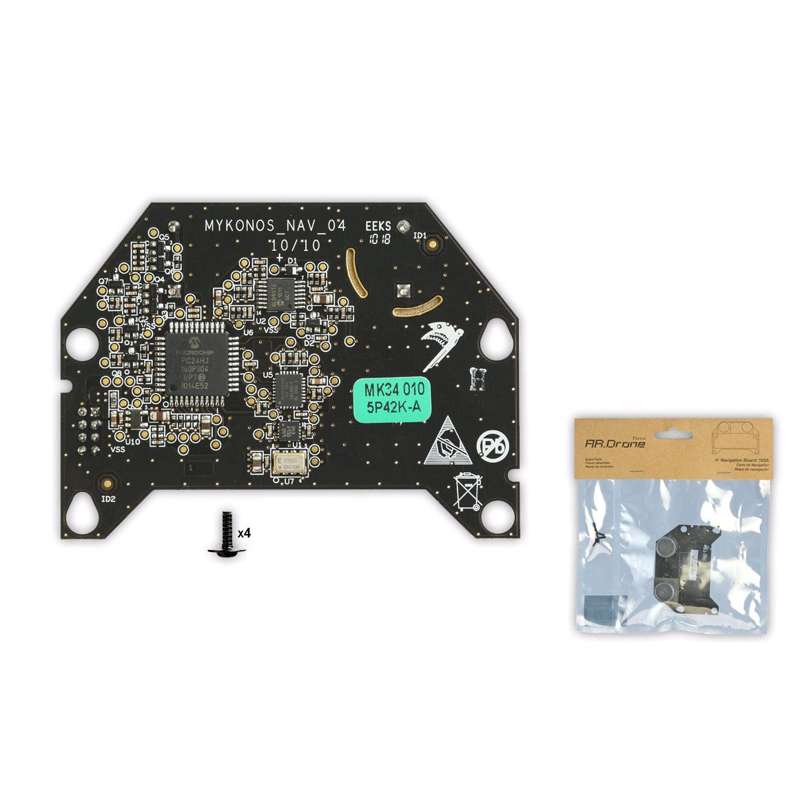 parrot carte de navigation pour ar drone accessoires iphone parrot sur. Black Bedroom Furniture Sets. Home Design Ideas