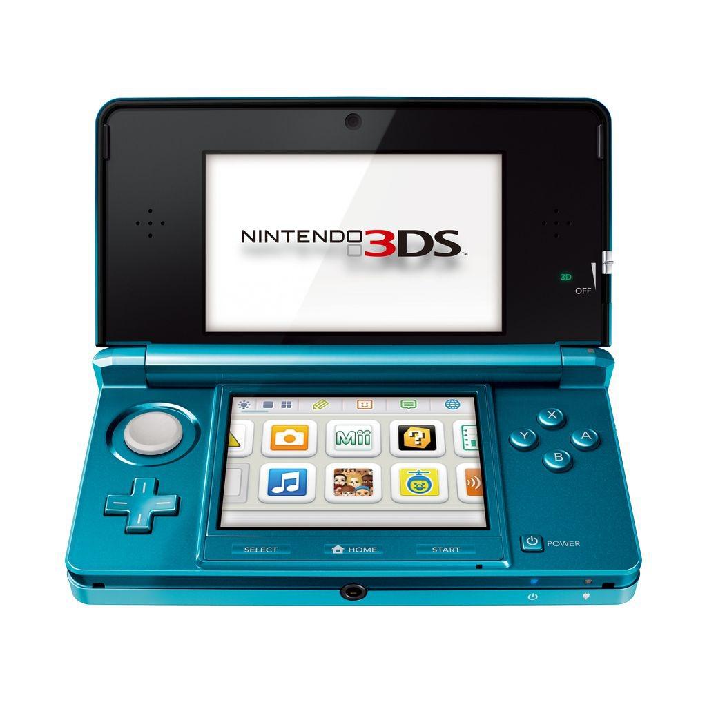 Console Nintendo 3DS Nintendo 3DS Bleu Lagon Nintendo 3DS Bleu Lagon