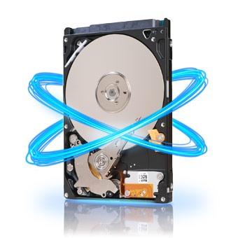 "Disque dur interne Seagate Momentus 5400.7 - 750 GB Disque dur 2.5"" 750 Go 5400 RPM 16 Mo Serial ATA II (bulk)"