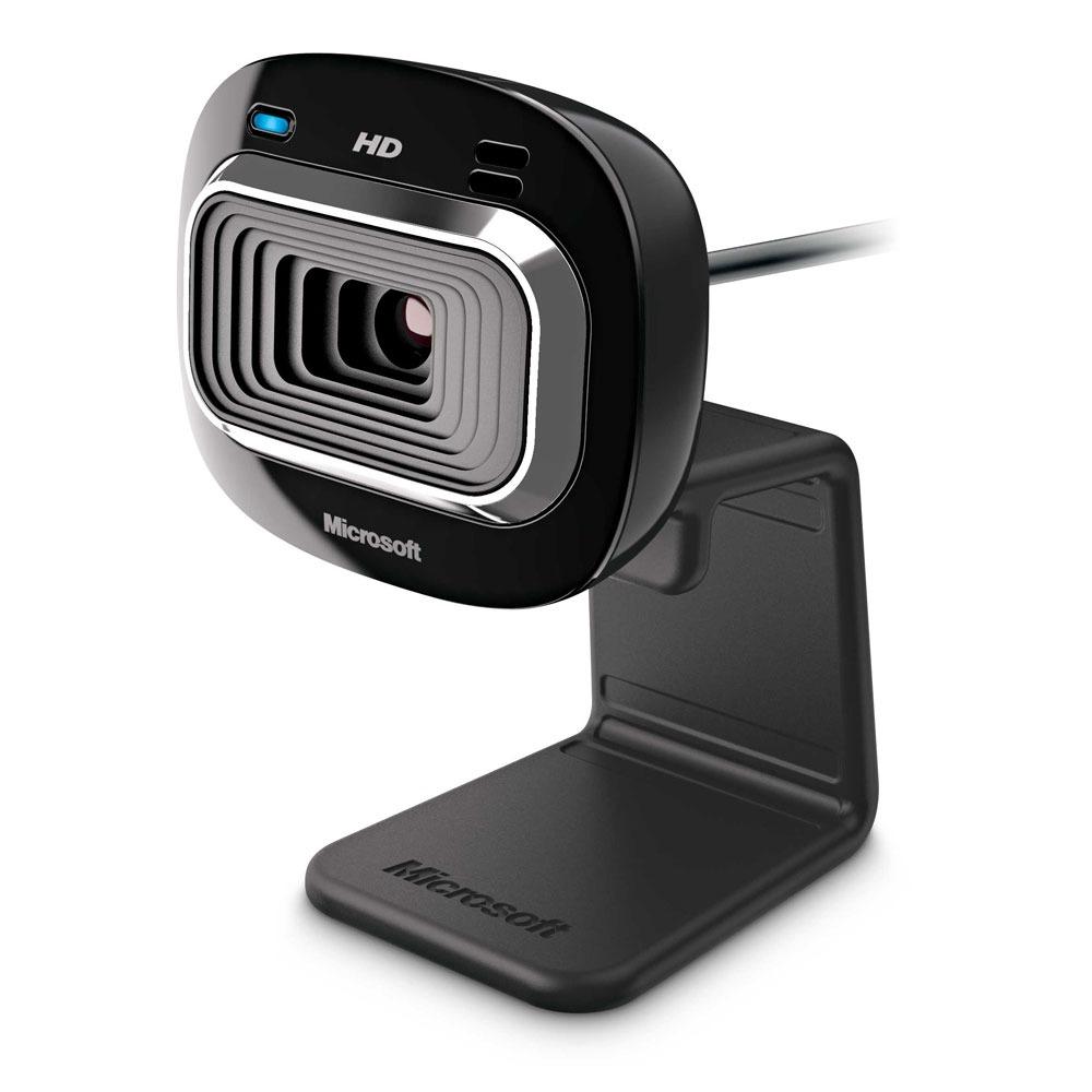 Webcam Microsoft LifeCam HD-3000 Webcam Haute Définition 720p USB