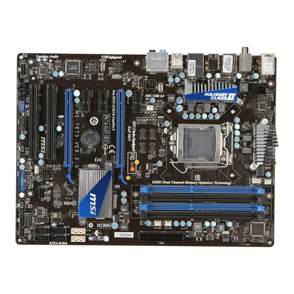 Carte mère MSI P67A-G45 (Rev. B3) Carte mère ATX Socket 1155 Intel P67 Express Revision B3