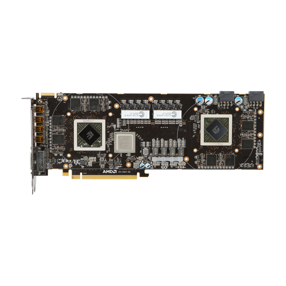 Carte graphique MSI R6990-4PD4GD5 HD 6990 4 GB MSI R6990-4PD4GD5 HD 6990 - 4 Go DVI/Quad Mini-DisplayPort - PCI Express (AMD Radeon HD 6990)