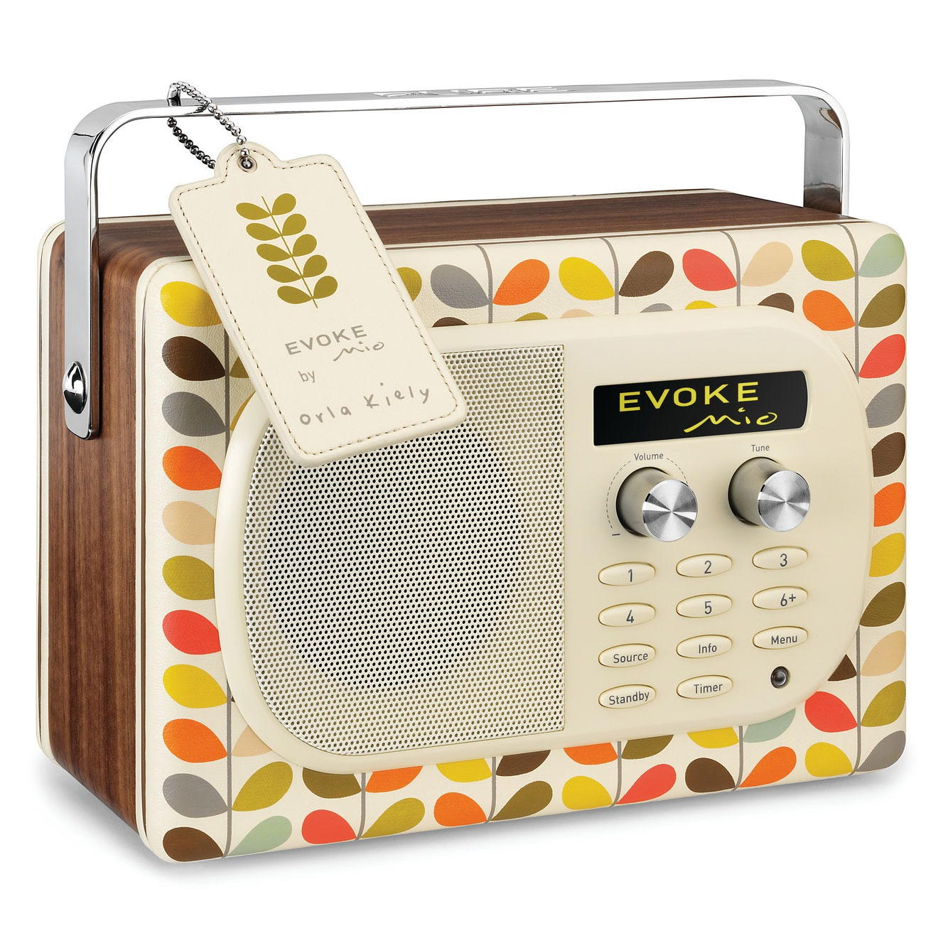 pure evoke mio par orla kiely radio radio r veil pure sur. Black Bedroom Furniture Sets. Home Design Ideas