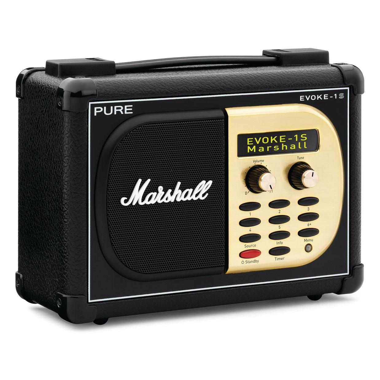 Radio & radio réveil Pure Evoke-1S Marshall Radio FM portable compatible RNT