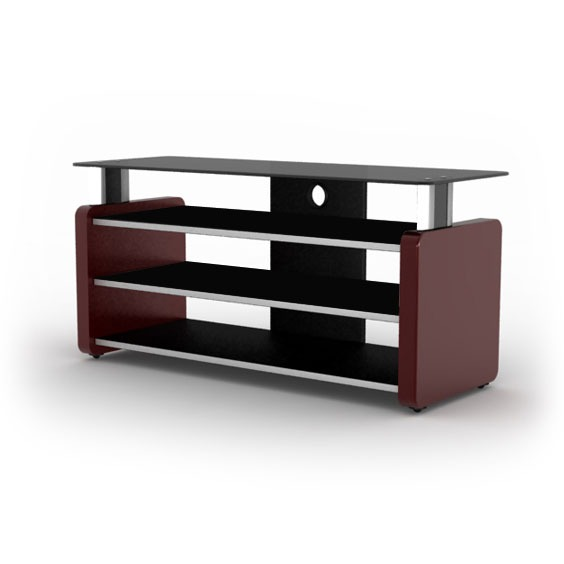 elmob aura au 105 02 bordeaux meuble tv elmob sur. Black Bedroom Furniture Sets. Home Design Ideas