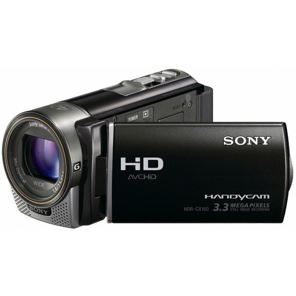 sony hdr cx160 cam scope num rique sony sur. Black Bedroom Furniture Sets. Home Design Ideas