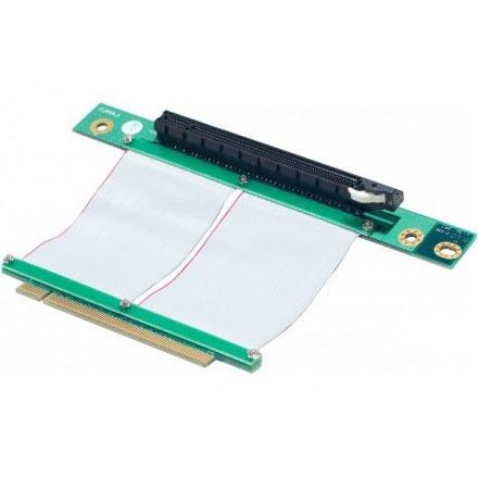 Alimentation Adaptateur horizontal (riser) PCI-Express 16x - Nappe 60 mm Adaptateur horizontal (riser) PCI-Express 16x - Nappe 60 mm